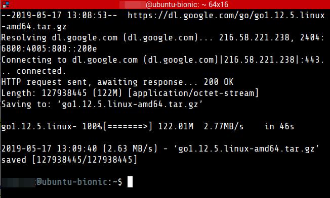 How To: Install Go In Ubuntu - aster cloud